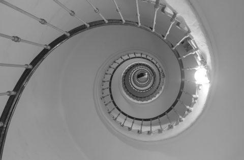 escaliers-spirales