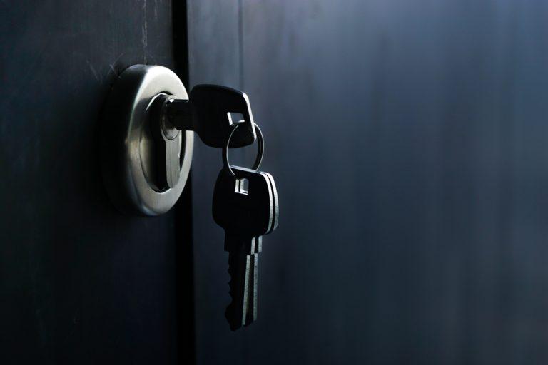 serrure clé